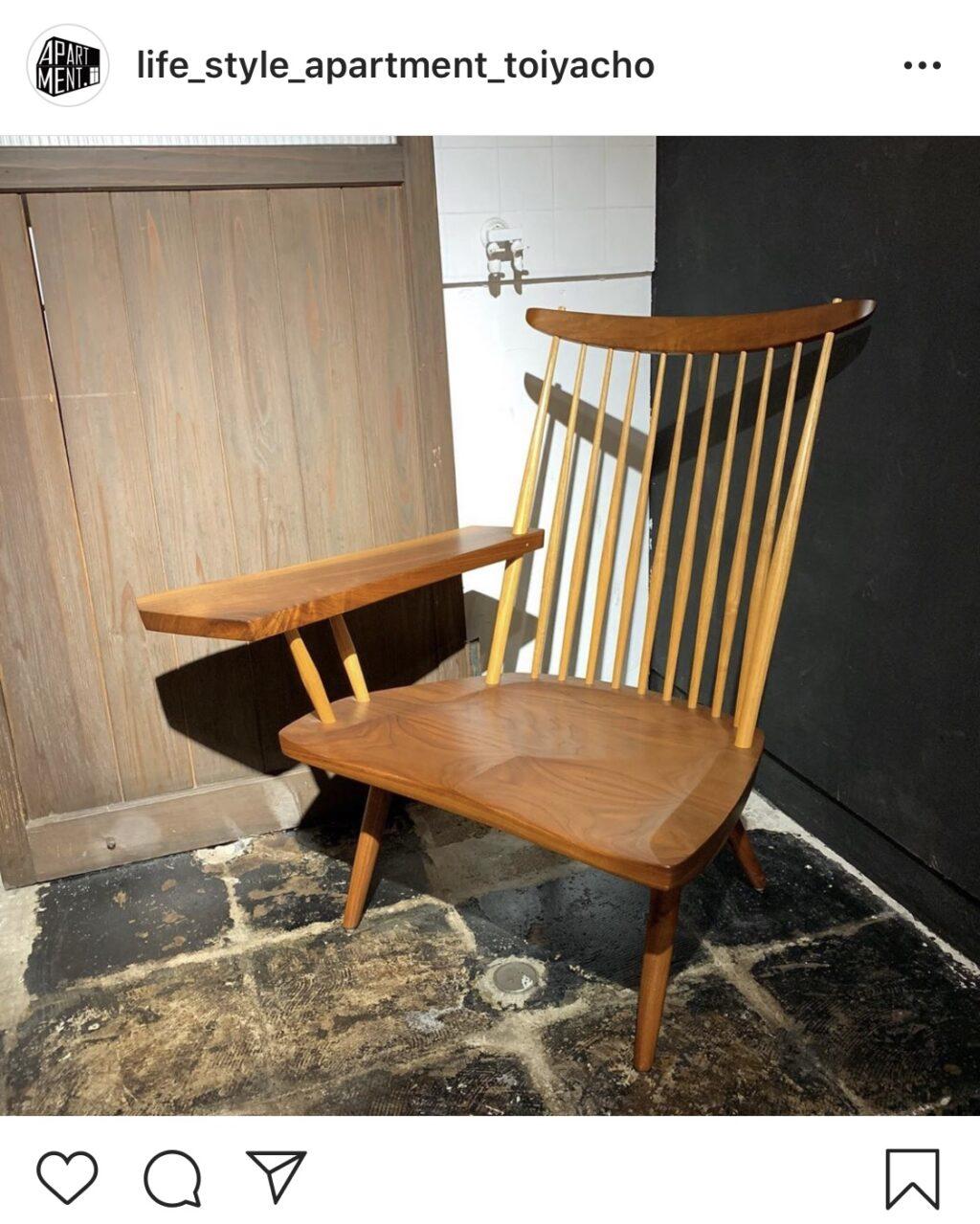 ジョージナカシマの家具買取販売ならリユースショップキミドリまで/USDデザイナーズ家具取扱ています