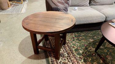 無垢材サイドテーブル